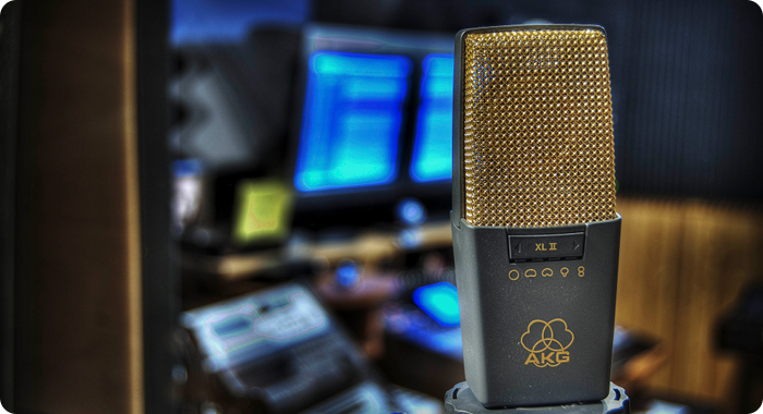 The In Tune Audio studio mic