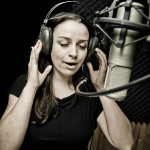 Giulia Mandolesi Recording Vocals